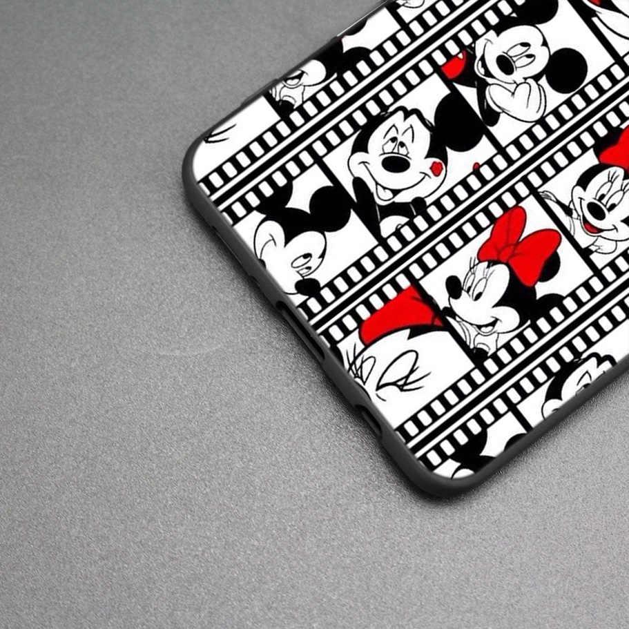 Cartoon Mickey Maus Herz Gemalt Fall Für Samsung Galaxy S9 S8 A8 A6 J4 J6 Plus A7 A9 J8 2018 s7 Rand Hinweis 9 8 Abdeckung
