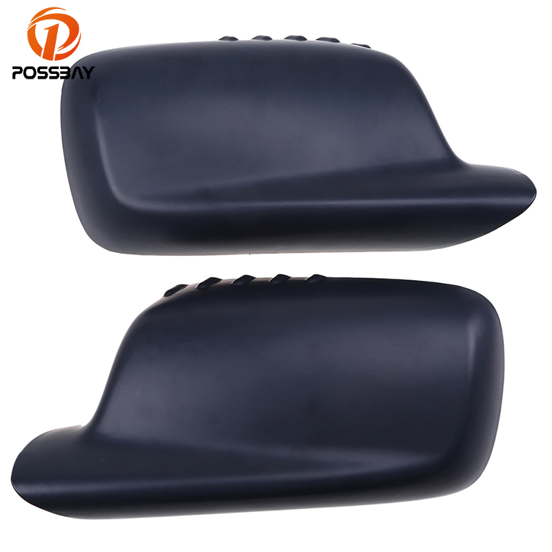 POSSBAY Car Side Door Rearview Mirror Frame Shell Cover