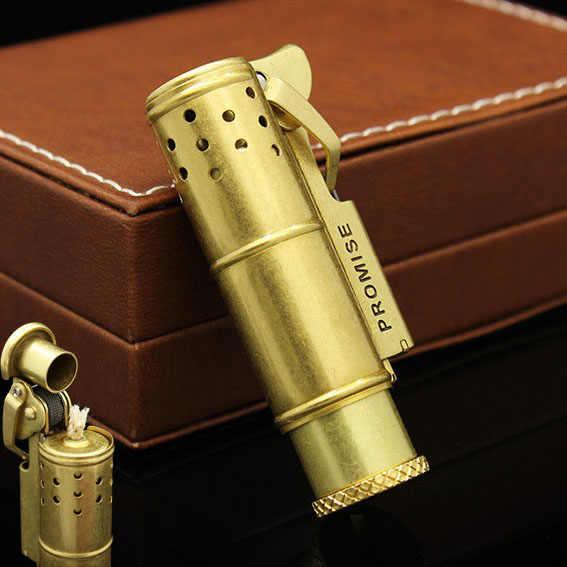 Retro Design Smoke Old Gasoline Lighters Vintage Metal
