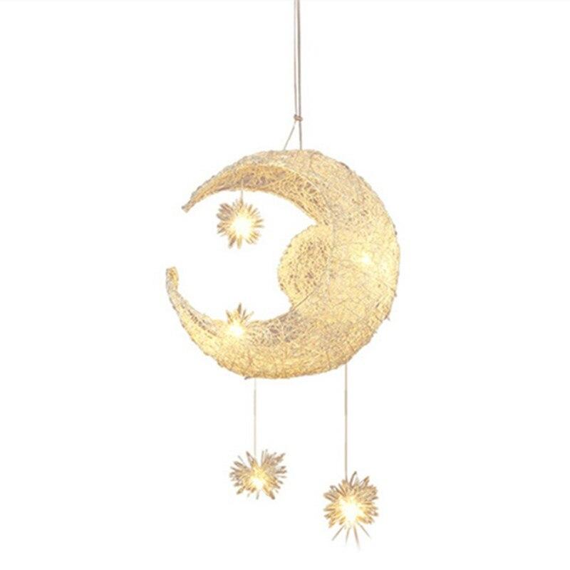 Lustres candelabro levou moderna iluminação lua Material : Aluminum