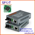 Free shipping Optical Fiber Media Converter Fiber Transceiver Single Mode Single Fiber 10/100M 25KM, SC Port, 1 Pair