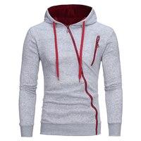 новый 3д толстовки для мужчин 2017 брендовая мужская толстовка sweatershirtи сторона косой тянуть толстовка для мужчин толстовки moletom закрытый тонкий костюм