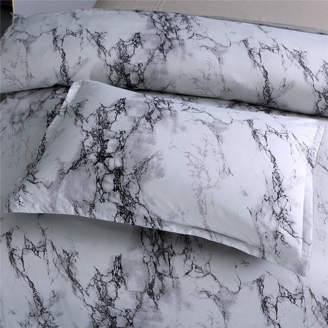 Soft Marble Bedding Set