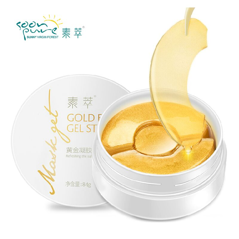 SOON PURE Gold Aquagel Collagen Eye Mask Ageless S...