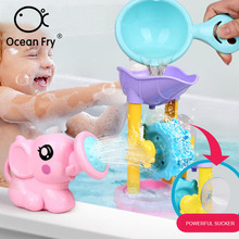 Baby Beach Play Water Toy Treasure Baby Puzzle Bath Toy Kit Play Water Sets Model Child Bathing Plastic Toys Gift Dropshipping free shipping model rocket vehicle toy is a play for children ball point performance props garage kit toys child s gift