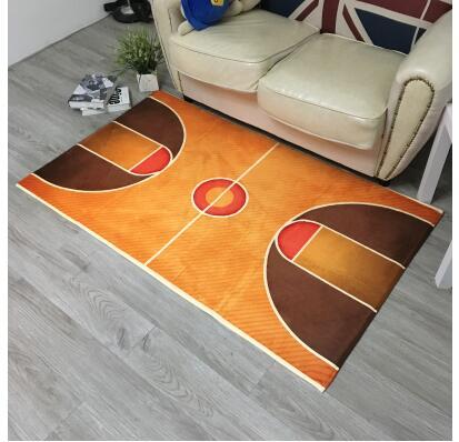 2019 tapis de terrain de basket-ball tapis de sol décoration de la maison porte tapis de couloir tapis de basket-ball pour salon