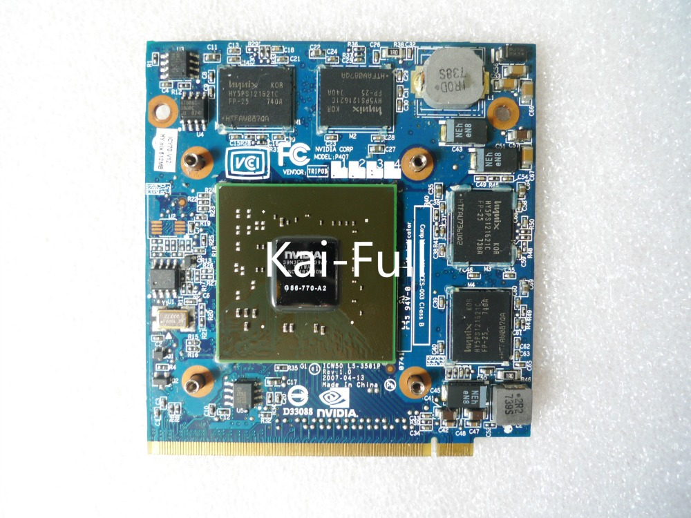 For Acer Aspire 7520G 7520 7720 7720G Series Laptop GeForce 8400 8400M GS 8600 8600M DDR2 512MB VGA Graphics Video Card image