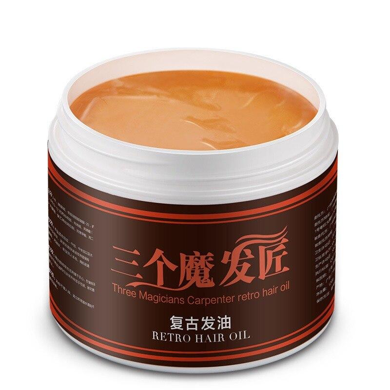 Strong Style Restoring Pomade Hair Wax Skeleton Cream Slicked Oil Keep Hair Men font b Styling
