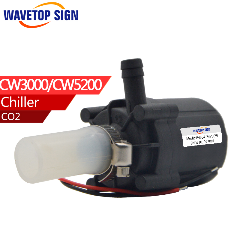 chiller cw 3000 cw 5200 water pump voltage 24v DC power 30w flow rate 10L/min head 8 meter chiller cw 3000 cw 5200 water pump voltage 24v dc power 30w flow rate 8 5l min head 8 meter