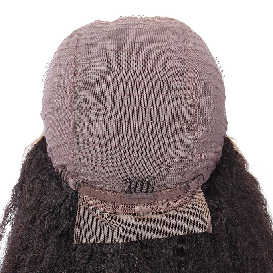 YVONNE verworrene gerade kurze Bob-Perücken für schwarze - Menschenhaar (für Schwarz) - Foto 6
