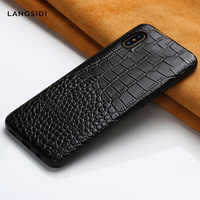 Genuine Leather cases for Apple iphone X XR XS XS max 360 Full protective cover for iphone 6 5 5s se 6S 7 plus 8 plus Apple case