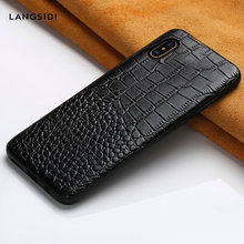Genuine Leather cases for Apple iphone X XR XS XS max 11 Pro Max 360 Full protective cover for iphone 6 5 5s se 6S 7 plus 8 plus(China)