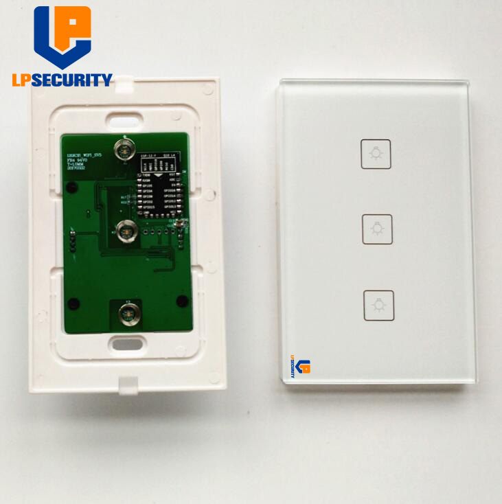 LPSECURITY Wifi Enabled Light Switch Home Improvement Works With Amazon Alexa Voice Command