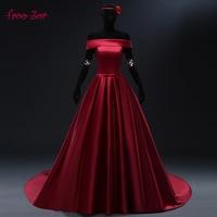 Taoo Zor 2018 Luxury White Burgundy Satin Strapless Wedding Dresses Belt Chapel Train Robe De Mariage