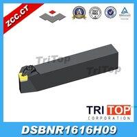 ZCC. CT herramientas de torneado externo DSBNR1616H09 soportes de herramientas de torno salidas de fábrica  espuma  barra de mandrinado  máquina cnc