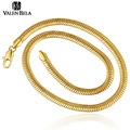 VALEN BELA Casual Women  Gold Plated Men Jewelry Male Colgante Necklace for Man Snake Chain Torques XL1586