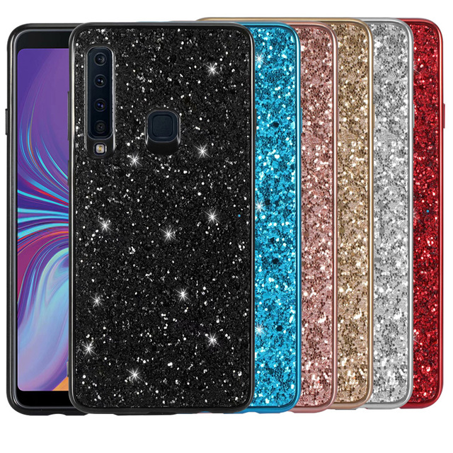 Shining Bling Glitter Pailletten soft Case Voor Samsung Galaxy A9 2018 case Voor Samsung A9S/A9 Star Pro/ a9200 A920F cover