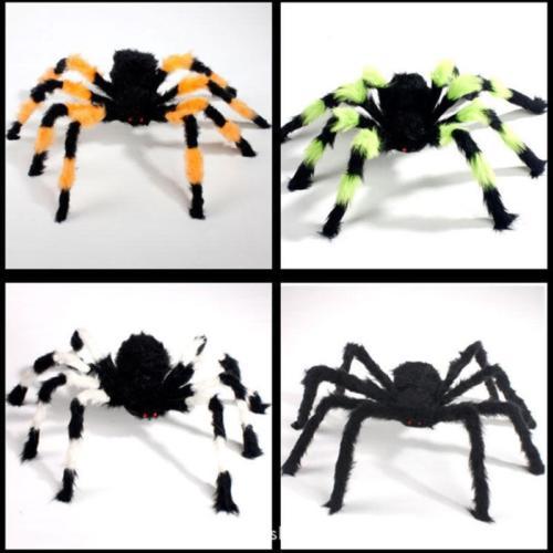 Colorful-Spider-Halloween-Decoration-Haunted-House-Prop-Indoor-Outdoor-Wide