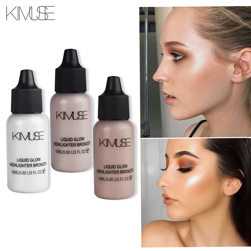 KIMUSE Face Makeup Box Shimmer Primer Ultra-Concentrated Illuminating Bronzing Makeup Concealer Liquid Highlighter Cosmetic Set image
