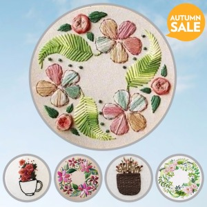 Magic Embroidery Set with Fram