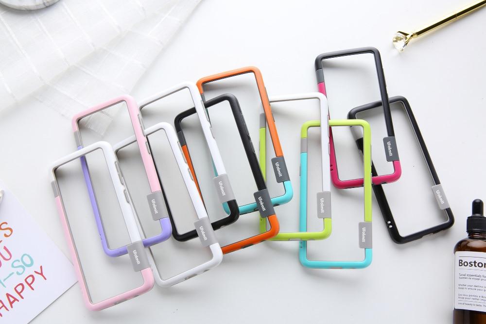 Para Sansung Galaxy S10 S9 S8 Plus Caso S10e Wolnutt Contraste Cor Suave TPU Plástico Bicolor Pontos do Caso do Quadro Com cordão Para Carros