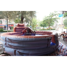 2017 Hot Sale Inflatable Machine Mechanical Bull Mat Inflatable Rodeo Bull Rides Mat Only The Mat