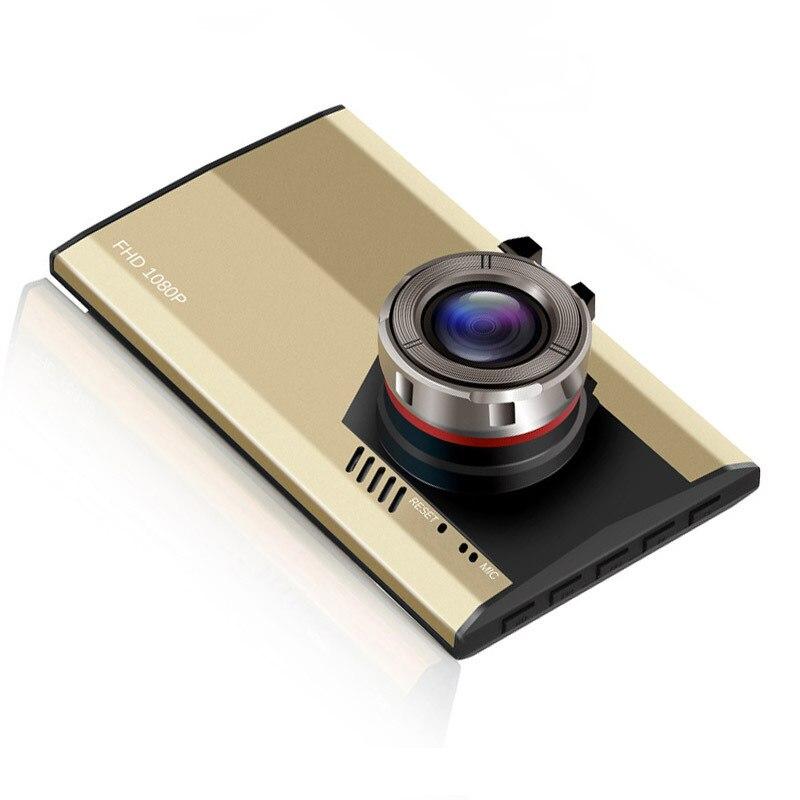 2017 Dash Cam Car Detector Blade A8 Recorder Ultra thin Titanium Alloy Shell 3 Inch Screen