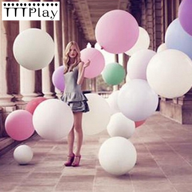 Wedding Decoration Balloons 36 Inch 90 Cm Large Giant Latex Helium Inflatable Hy Birthday Party