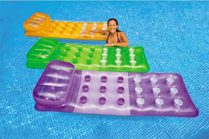 Intex adults swim pool toy inflatable mattress funny - Swimming pool accessories for adults ...
