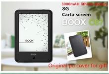 ONYX BOOX C67ML Carta E libro + caja Original con 3000 mAH batería de litio Táctil Pantalla Eink de Lector de Libros Electrónicos 8G WIFI Frontlight