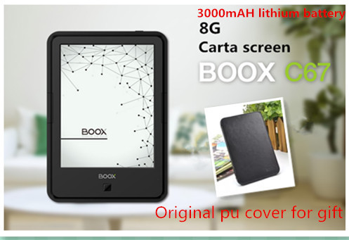 Original ONYX BOOX C67ML Carta E book+case with 3000mAH lithium battery Touch Eink Screen EBook Reader 8G WIFI Frontlight