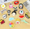 Amazing 1PC Hot Shirt Cute Cartoon Harajuku Acrylic Badge Pins Bag Packbag Decoration Fruit Animal Bottle Dog Cat Brooch Broche