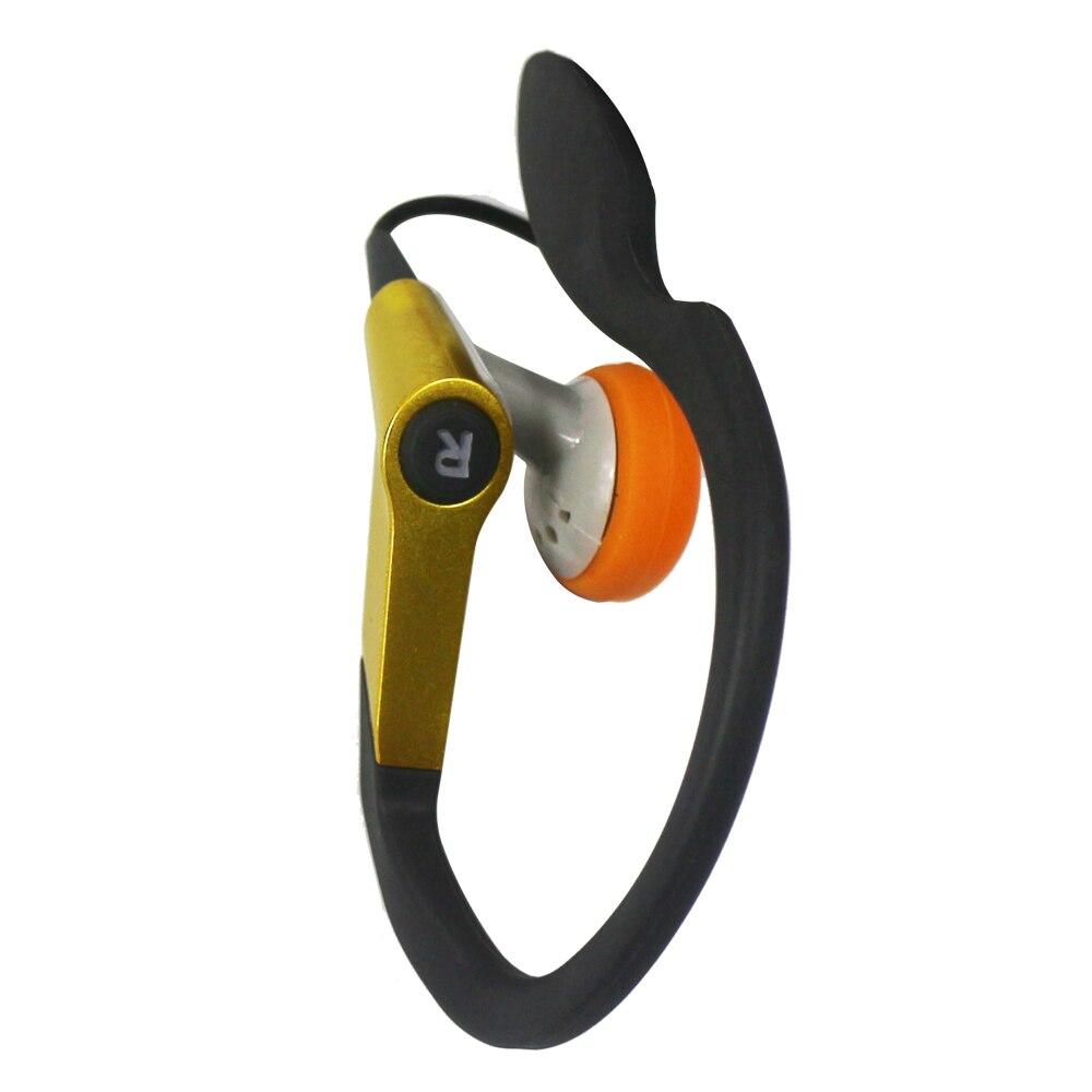 Высококачественные наушники с Ушными крючками, спортивные наушники для отдыха на открытом воздухе, проводная гарнитура Fone De Ouvido для iPhone, ...