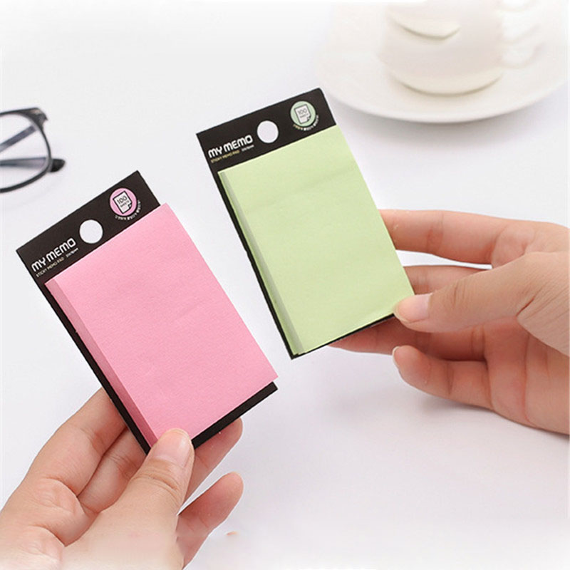 Cute Cololful Memo Pad Paper Sticky Notes Post It Kawaii Stationery Papeleria Korean School Supplies