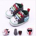 Animal encantador Del Bebé Zapatos de Los Niños Lindo Rana Niño Niños Niñas Suela Blanda Primeros Caminante t-atado Bebé Zapatillas Deportivas zapatos