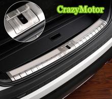 Багажник автомобиля бампер отделка сзади гвардии пластины нержавеющая сталь интимные аксессуары для Skoda Kodiaq 2017 2018