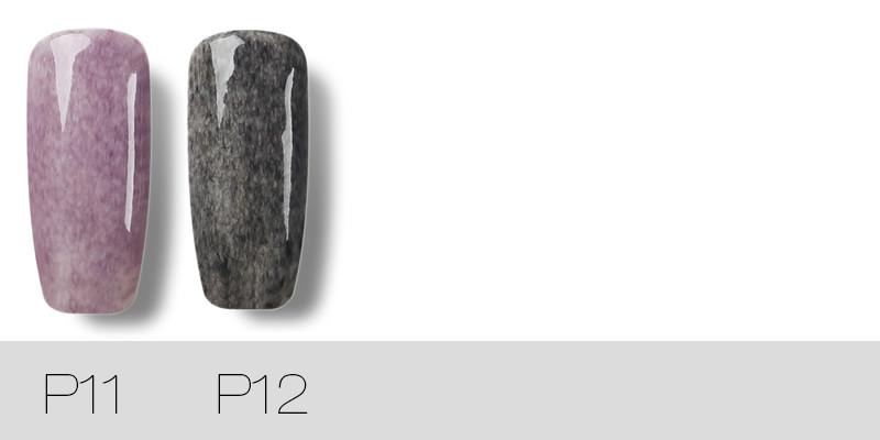 ROSALIND-Black-Bottle-7ML-Faux-Fur-Effect-P01-12-Gel-Nail-Polish-Nail-Art-Nail-Gel_