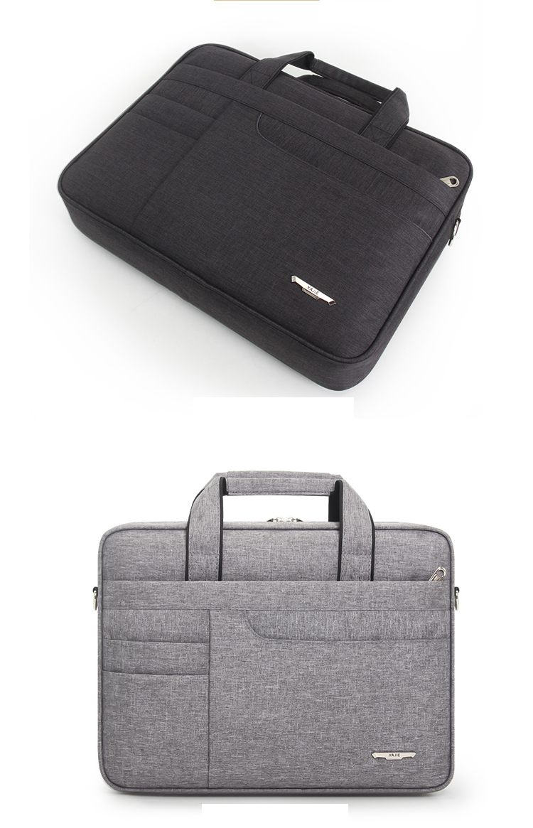 HTB1Yn8XbBiE3KVjSZFMq6zQhVXaX Brand Waterproof Men Women 14 15.6 inch Laptop Briefcase Business Handbag for Men Large Capacity Messenger Shoulder Bag