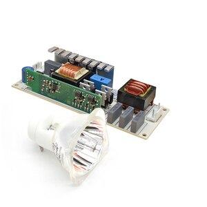 Image 2 - JiDaCHeng 10R 280W מתכת הליד מנורת נע קרן מנורת עם 280W כוח אספקת סוללה נטל