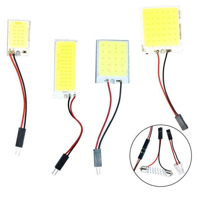 COB LED Lamp Chip 12V DC IP65 No Need Driver Lampada LED Bulb Flood Light Chip SMD3528 SMD5050 SMD5730 Diy Spotlight Lighting