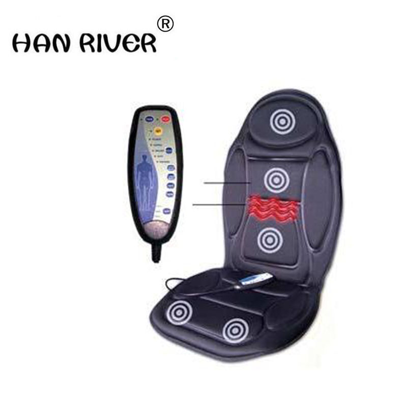 Body massage instrument thermal vibration massager physiotherapy massage chair seat cushion neck massager chair car pain tapping massage cushion 3d new massager whole body massage chair mat for sale