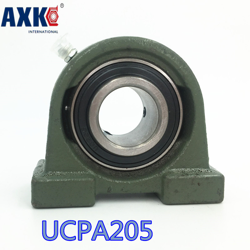 2018 Direct Selling Rushed Steel Thrust Bearing Bearing Ucpa205 Aperture = 25mm цена
