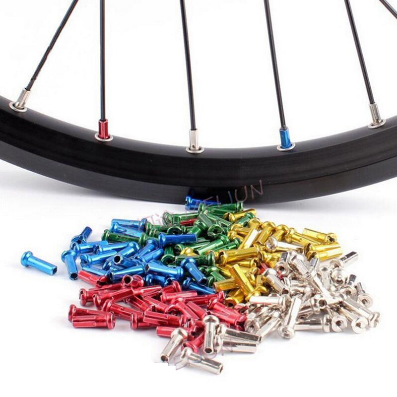 10PCS 14G Bike Bicycle Spokes Nipples 170~286mm Stainless Steel Spoke Sliver HI