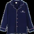 2016 autumn pajama sets men male sleepwear long sleeve length pants cotton cardigan lounge set plus