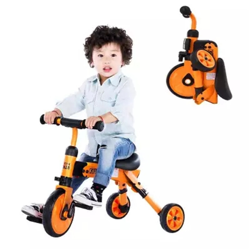 2 in 1 folding kids child scooter baby balance bike Children's bike for 2-6 years old baby multifunctional tricycle