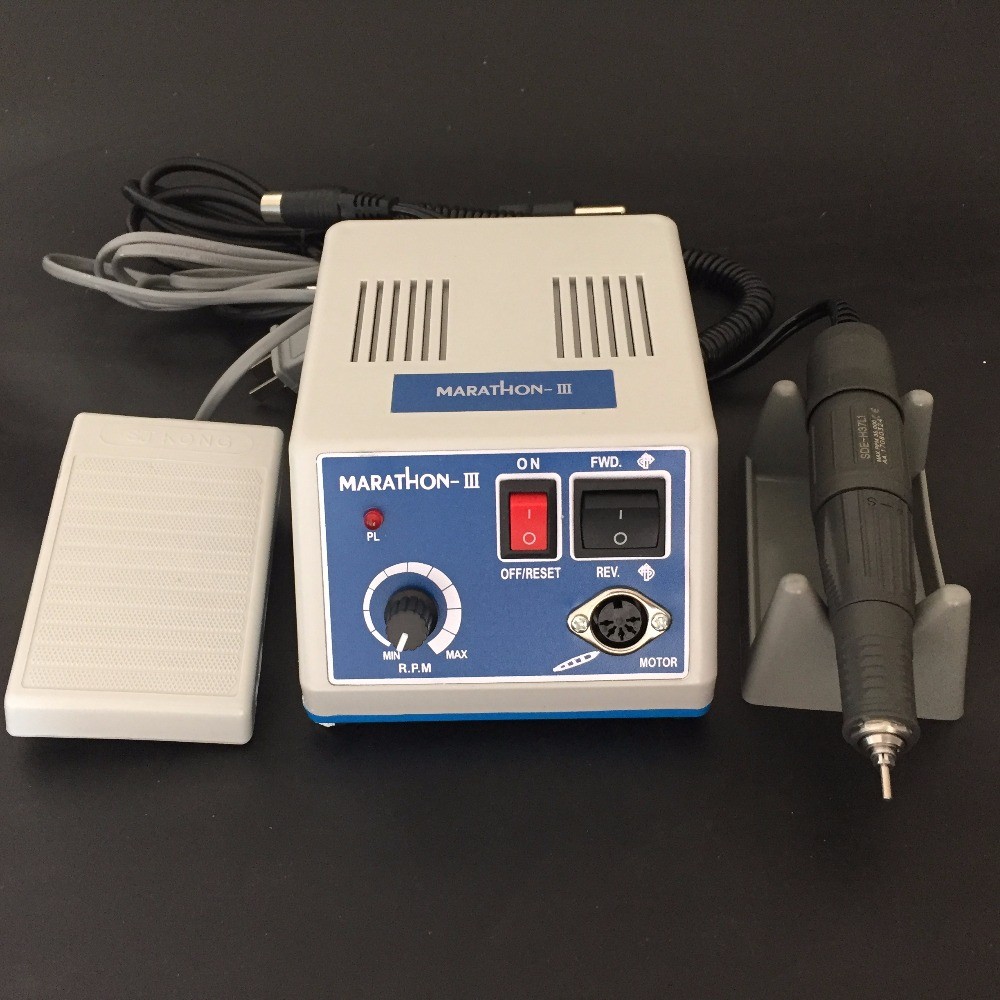 Image 2 - Dental LAB Marathon N3 Micromotor Micro motor 35,000RPM Handpiece Lab Equipment UE SDE H37L1 35K rpm handpiece-in Teeth Whitening from Beauty & Health
