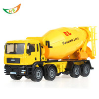 kaidiwei brinquedos boys Alloy engineering car 8 wheel cement mixer scania truck rotating toy car 1:50 scale models kids toys
