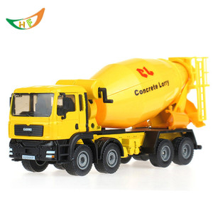 kaidiwei brinquedos boys Alloy engineering car 8 wheel cement mixer scania truck rotating toy car 1:50 scale models kids toys toy car scania truck car toy -