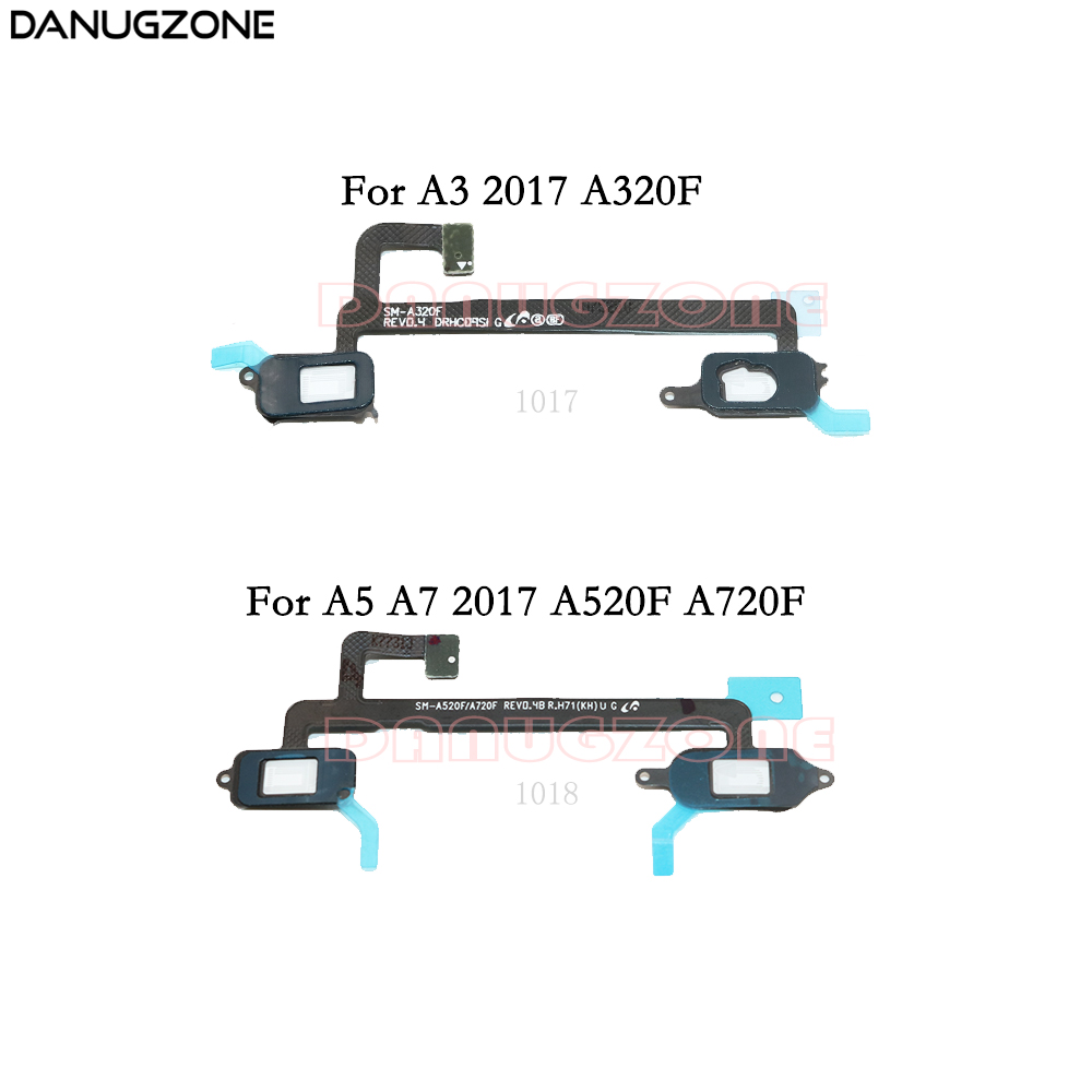 Home Button Touch Light Sensor Flex Cable Ribbon For Samsung Galaxy A3 A5 A7 2017 A320 A320F A520 A520F A720 A720F
