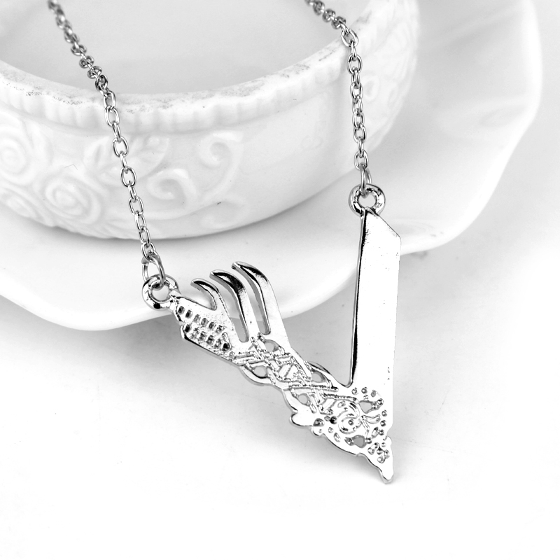Vikings Logo Pendant Necklace